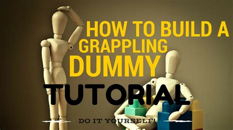 How To Assemble A Dummy Learn How To Build A Grappling Dummy In Just 5 Minutes