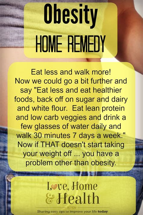 7 Radical Cures For Obesity by Home Remedies For Obesity Happy Health And Mental