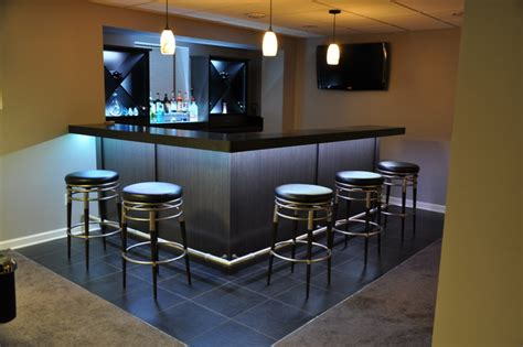 modern bar ideas for basements bars