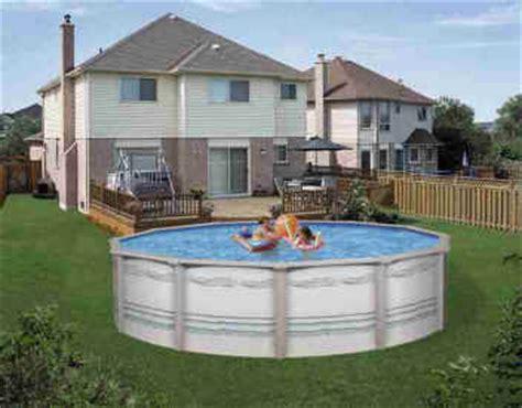 backyard city pools cornelius sigma above ground pool 30ft x 52 in