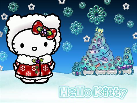 Hello Kitty Christmas Wallpaper Free | hello kitty christmas wallpapers hello kitty forever