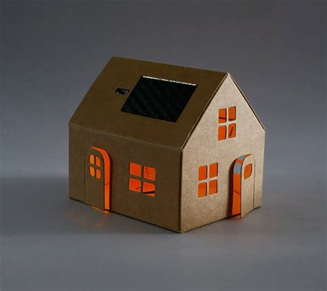huis van karton kartonnen huisje knutselen ma87 belbin info
