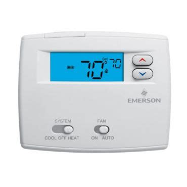 Emerson Blue 2 Quot Single Stage Non Programmable Thermostat