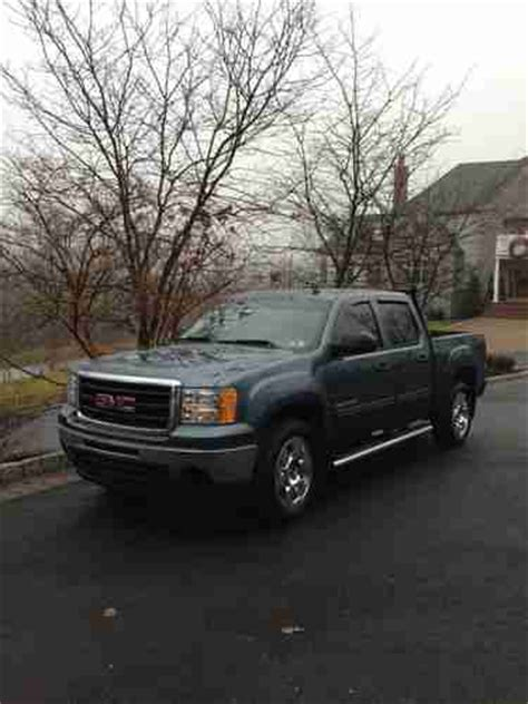 download car manuals 2009 gmc sierra 1500 parking system sell used 2009 gmc sierra 1500 sle crew cab pickup 4 door 5 3l in chalfont pennsylvania united
