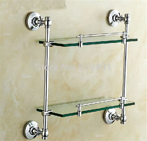 Wall Mount Shower Shelf by Wholesale And Retail Promotion New Chrome Brass Wall