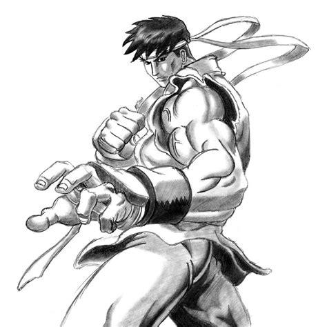 Fighter V Sketches by Fighter Ryu By Mdtartist83 On Deviantart