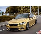 Stanced BMW 5 F10