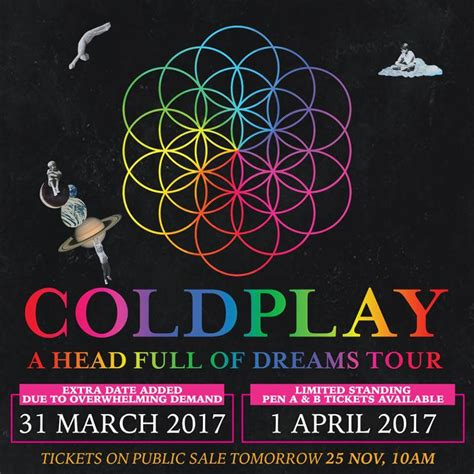 coldplay concert indonesia coldplay adds 2nd show in singapore concertkaki com