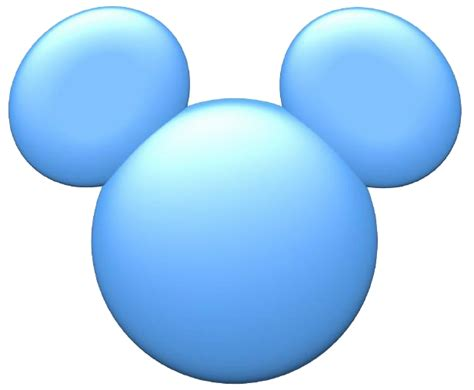 blue white black mickey mouse post card template mickey mouse icons clipart