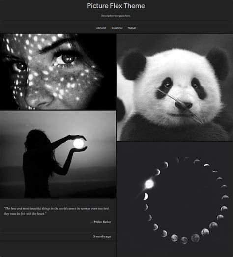 tumblr themes html black 20 elegant free dark tumblr themes utemplates