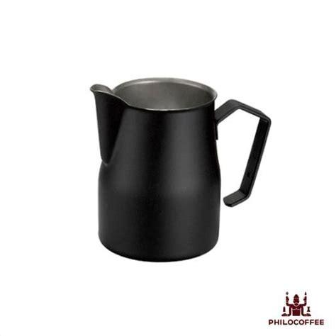 Motta Milk Jug Black 500ml motta black teflon milk jug 500 ml philocoffee