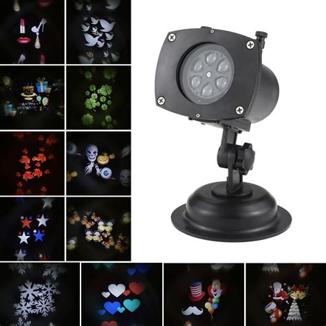 new 12pattern led landscape l projector lawn light