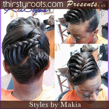 fishtail braid black women fishtail braid hairstyles for black hair fishtail updo