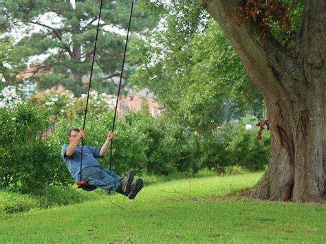 the eight step swing how to make a tree swing hgtv