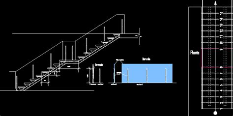 staircase section dwg file open riser stair dwg section for autocad designs cad