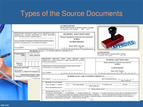 Source Documents In Clinical Trials Part1 Source Documents For Clinical Trials Template