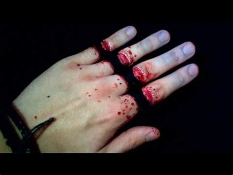 cut fingers trick tuto