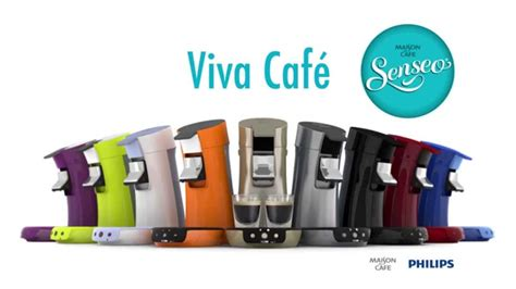 philips senseo viva cafe machine  dosettes  capsules