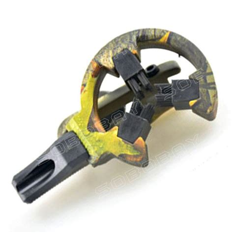 Arrow Rest 3 Brush Compound Bow Recurve Bow brush hostage compound bow and recurve bow arrow rest for to fixing arrow camouflage in
