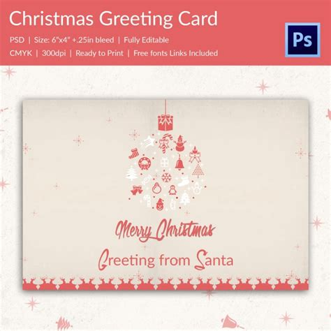 birthday card template winter 21 greeting cards psd format free