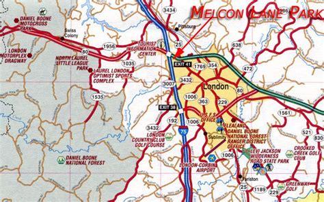 kentucky map corbin industrial commerce park for sale build to suit