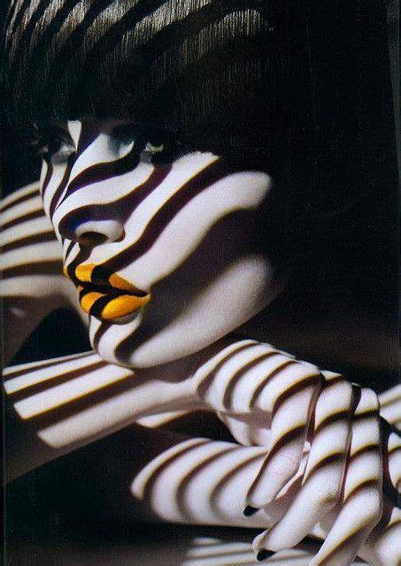 pattern fashion photography couleur noir te blanc touche couleur