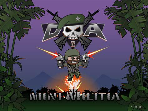 mod game mini militia save game da 2 mini militia unlimited hack no