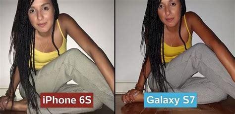 iphone 6s x galaxy s7 qual dos dois aparelhos tem a melhor c 226 mera not 237 cias tecnologia