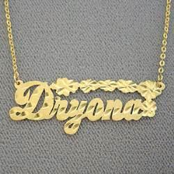 Custom Name Jewelry Personalized Gold Custom Name Necklace Jewelry Personalized Gifts