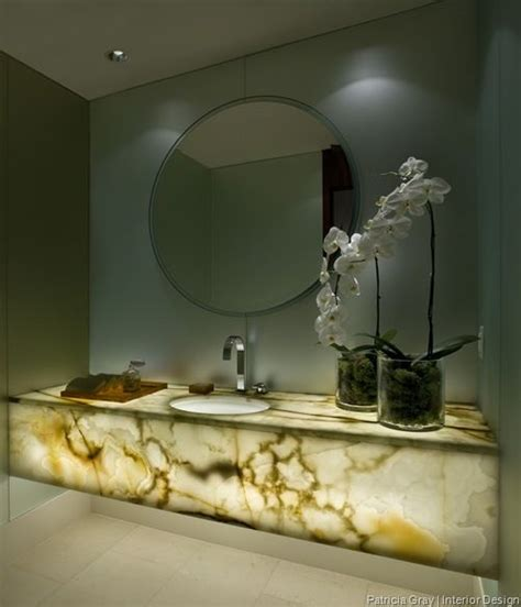 Onyx Bathroom by Onyx Vanity Counter With Lighting No Need For