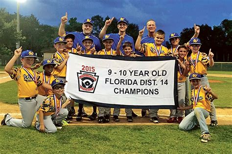 section 10 little league tournament little league pair of windermere all star teams conclude