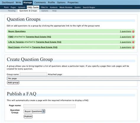 faq layout exles faq plugins for wordpress faq tastic versus ask me
