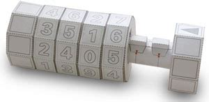 How To Make Paper Lock - combination lock rob ives
