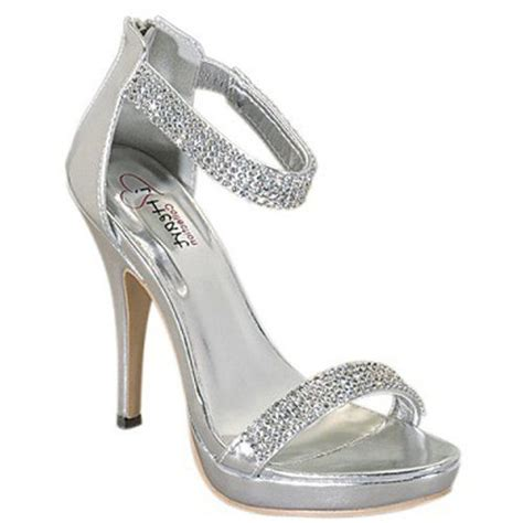 silver high heels with diamonds the world s catalog of ideas