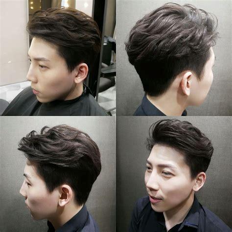 hair salons that perm men s hair semi undercut korean