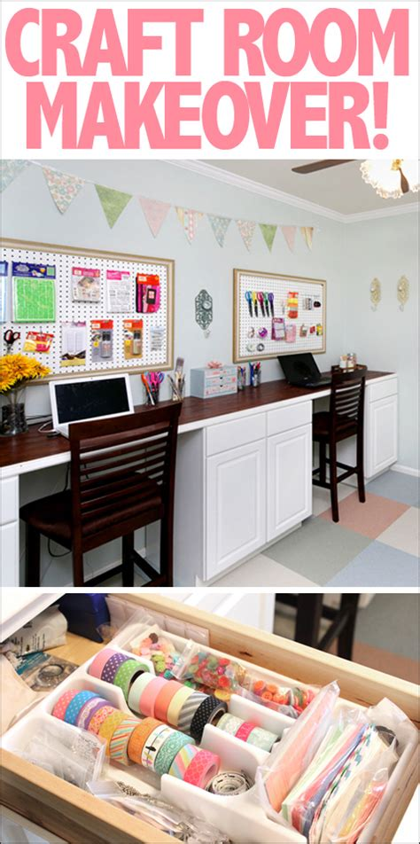 craft room makeover my craft room makeover how to nest for less