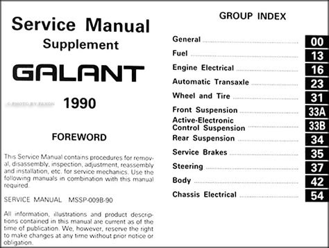 car repair manuals download 1988 mitsubishi galant electronic valve timing service manual repair manual download for a 1990 mitsubishi galant mitsubishi galant 1988