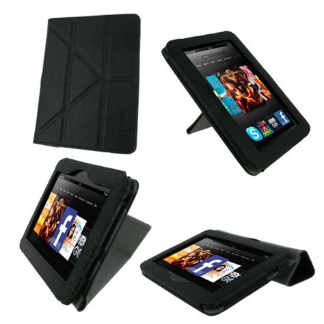 Kindle Hd 7 Origami - roocase origami dual view black for 2012 kindle