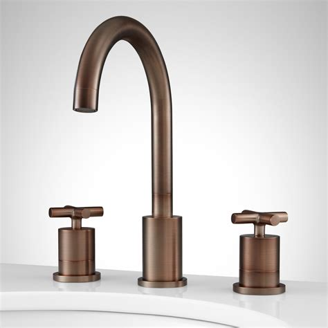 bathroom sink faucets brushed bronze bathroom sink faucets
