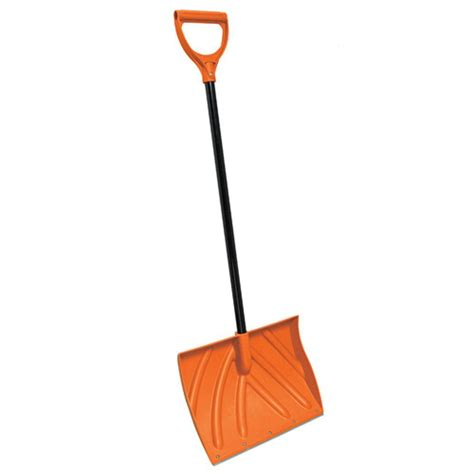 true temper 18 in ergonomic mountain mover snow shovel