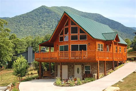 chalet cabin plans timber home exterior galleries logangate homes