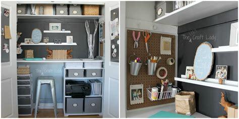 closet office ideas small office organizing ideas closet office makeover