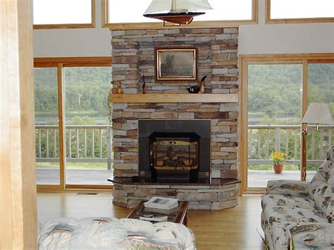stacked slate fireplace surround fireplace design ideas