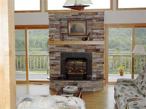 Stacked Slate Fireplace Surround   FIREPLACE DESIGN IDEAS