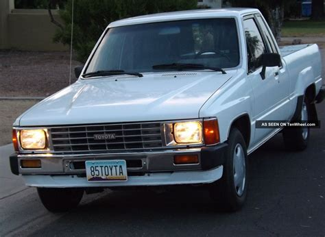 1985 Toyota Truck 1985 Toyota Cab Everything Works Tires