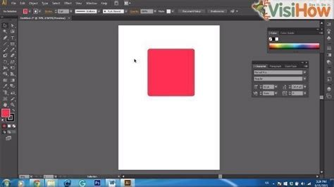 Adobe Illustrator Cs6 Rounded Corners   use round corners in adobe illustrator cs6 visihow