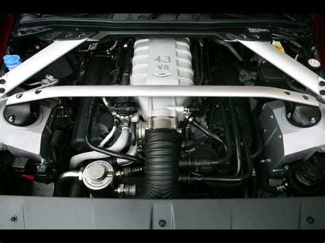2007 aston martin v8 vantage engine 1920x1440 wallpaper