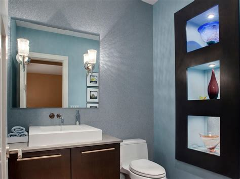 Ideas For Tiny Bathrooms by Powder Rooms Hgtv