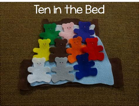 ten in the bed the preschool procrastinator ten in the bed