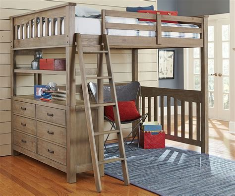 wooden loft bed full size creative ideas for adult loft bed homestylediary com